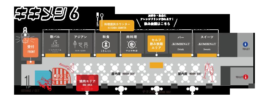 キキメシ6店内図